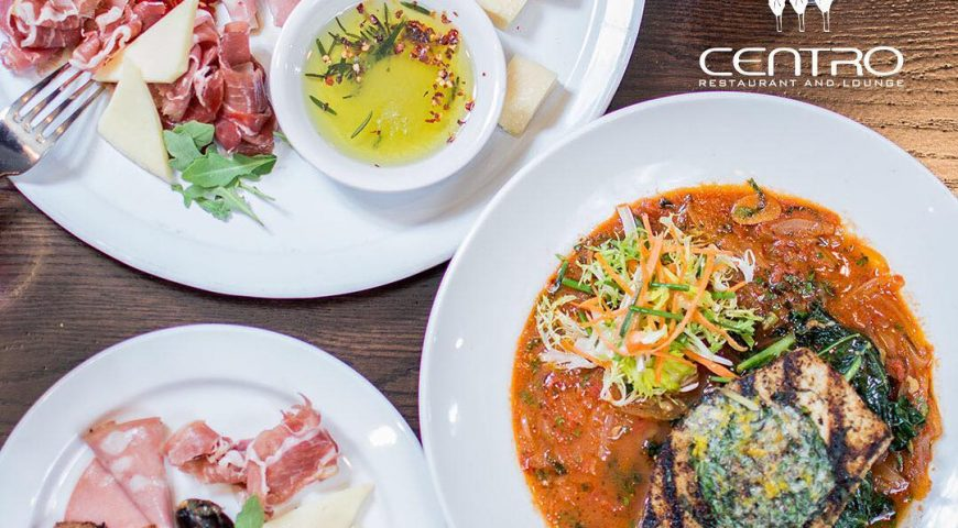 Inside the Centro Restaurant and Lounge's Mouthwatering Menu